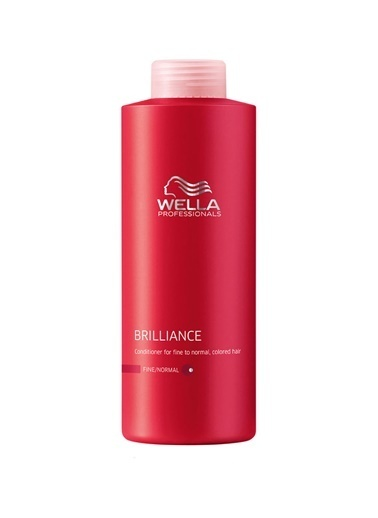Wella Brilliance Fine Saç Kremi 1000 Ml Renksiz